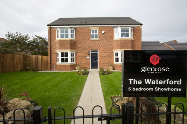Rydale Showhome Glenrose Developements Sunderland